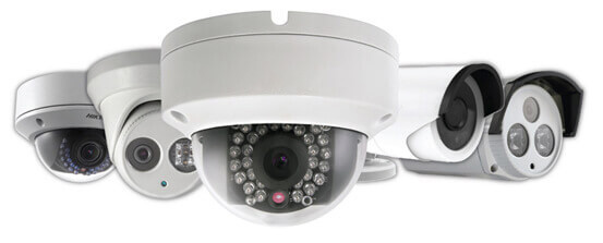 CCTV video surveillance cameras for storage unit security