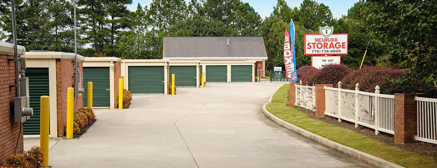 Securlock Storage Units In Grayson Ga 770 736 0800