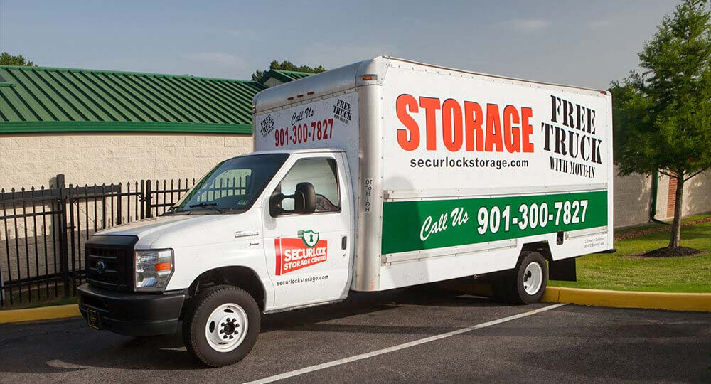 Genial Free Moving Truck Rental Securock Storage Cordova